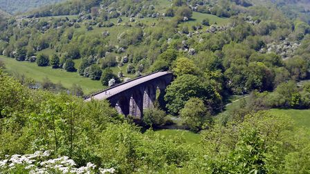 The Monsal Dale Viaduct