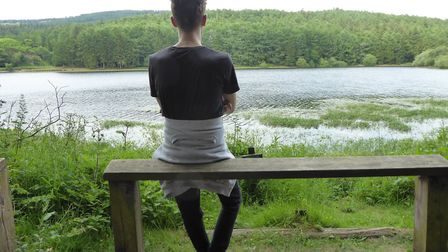 Soaking in nature at Trentabank Reservoir, Macclesfield Forest