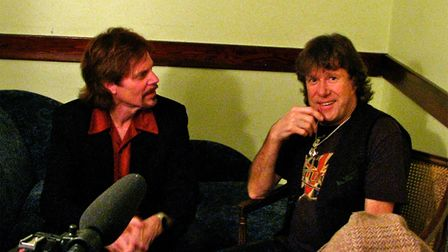 Robert Berry and Keith Emerson, San Francisco 2010, courtesy of The Publicity Connection