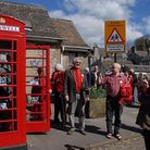 Tideswell opens its 'listen and learn' history box' Photo: Bill Bevan