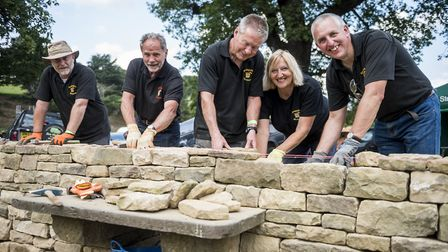 Dry stone walling is one of the traditional crafts featured Photo: Shoot-lifestyle.co.uk