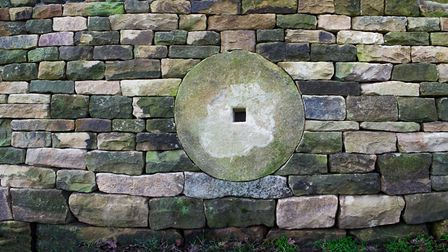 Fancy wall at Chatsworth built by Derbyshire members of the DSWA