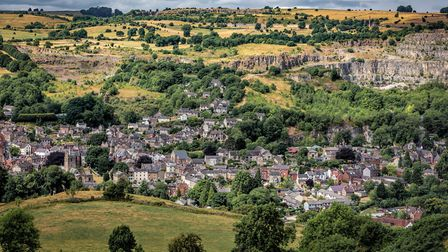 Panoramic view of Wirksworth