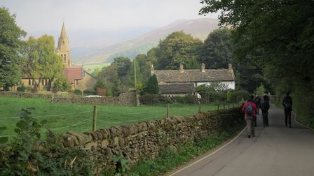 Approaching Edale, stage