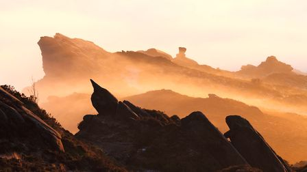 Adjacent to the The Roaches lie Ramshaw Rocks. This incredible feature almost hangs over the A53 Buxton to Leek road and...