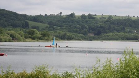 Carsington Water by Sally Mosley