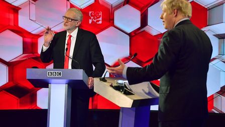 A YouGov poll has found the public are split by 52% to 48% on who won the BBC Leaders debate. Photo: