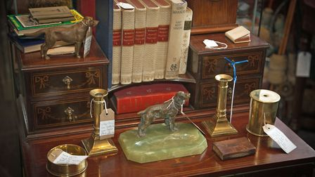 Jim's section in the Rutland Antiques Centre
