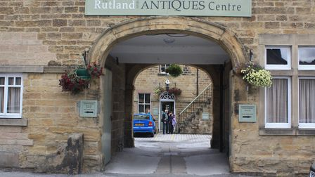 The Rutland Antiques Centre in Bakewell