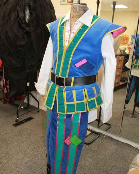 Planet Costume Services working on Jack and the Beanstalk Photo: Claire Bore