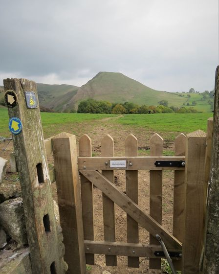 The path to Dovedale