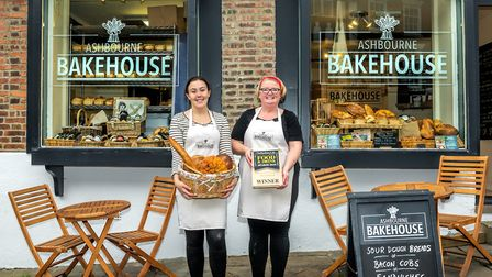 Lisa Wallace and Lucy, Ashbourne Bakehouse