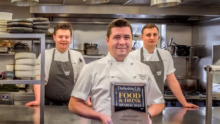 Chris Mapp and team at the Tickled Trout