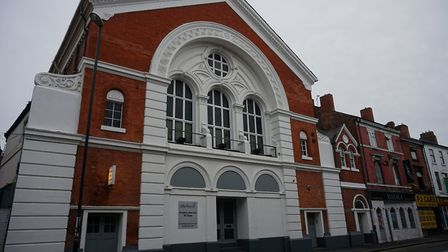 The former Temperance Hall for Derby in Curzon Street