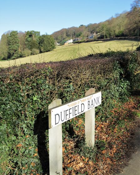 Sign for Duffield Bank