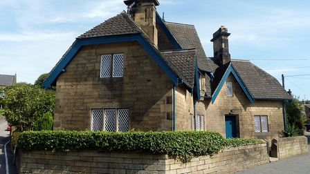 The 'Gingerbread House' at Beeley