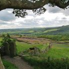 View from Curbar Gap by Sally Moseley
