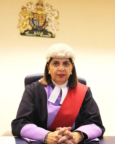 Her Honour Judge Nirmal Shant QC at Derby Crown Court Photo: Sarah Marley