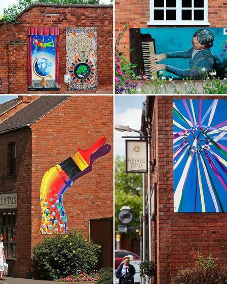 Open Art in Ashby from previous years
