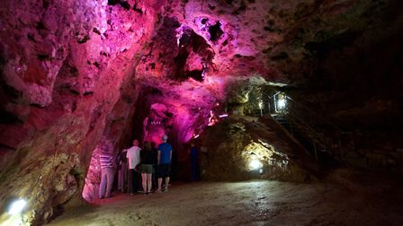 The Great Chamber of Great Masson Cavern Photo: Heights of Abraham