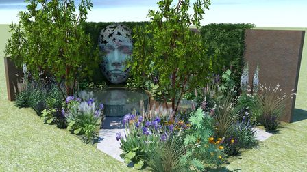 Design for the Thrive Garden  in the new Mindfulness category