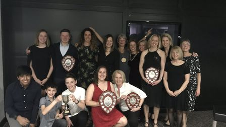 Duffield collected a number of trophies including Club of the Year