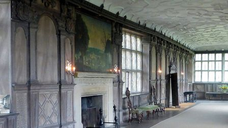The Long Gallery in Hardwick Hall