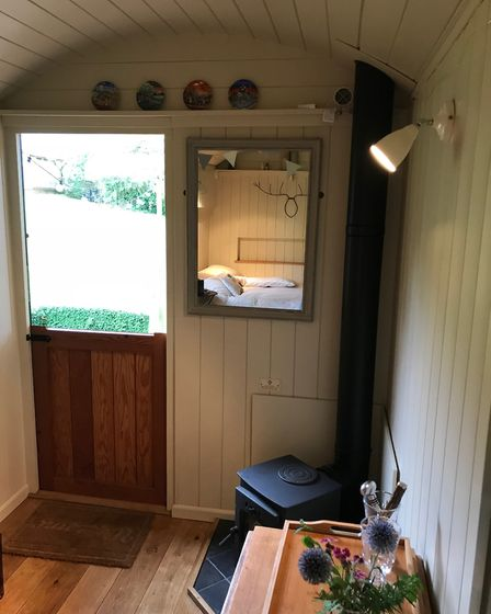 Stove and stable door