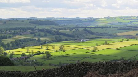 A beautiful view over the Derbyshire Dales