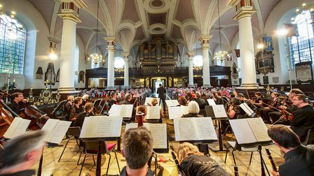 In concert at Derby Cathedral Photo: Graham Whitmore
