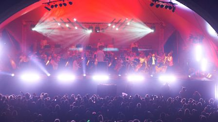 The Darley Park concert in 2013 Photo: Glyn Smith