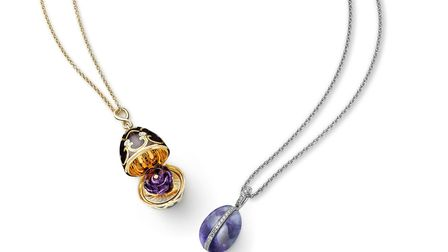 Blue John and Faberge design to mark 40 years in business