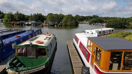 As well as a popular place to visit, the marina has become a thriving community in its own right