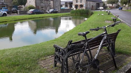 Pit-stop at the charming Hartington village pond. You may be tempted by The Old Cheese Shop opposite! Mountain bike from...