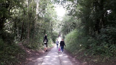The Tissington Trail is family friendly for non-cyclists too