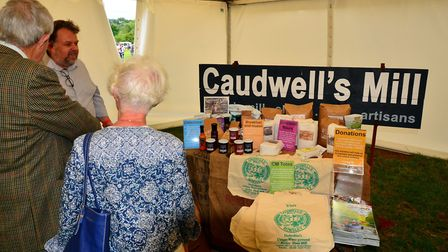 Rowsley's Caudwell's Mill, where flour is still being milled the old-fashioned way