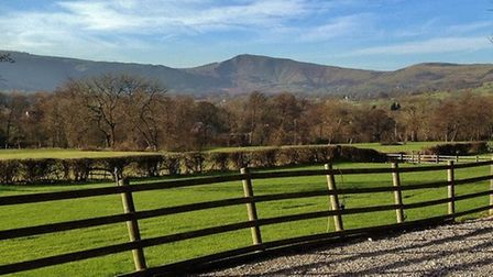 View towards Mam Tor by Sally Mosley