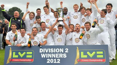 Division 2 Champions in 2012 Photo: David Griffin