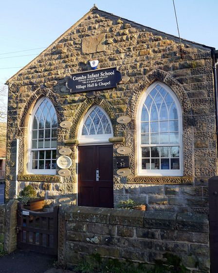 Combs Infant School, Village Hall and Chapel