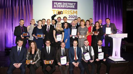 Gold winners at the Peak District & Derbyshire Tourism Awards 2020