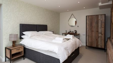 The Stables on the ground floor  one of the comfortable and stylish bedrooms