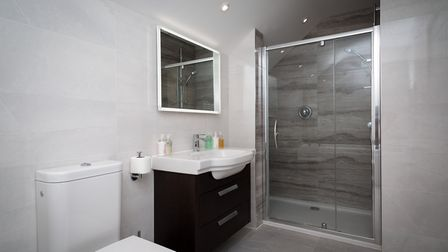 One of the luxurious contemporary bathrooms