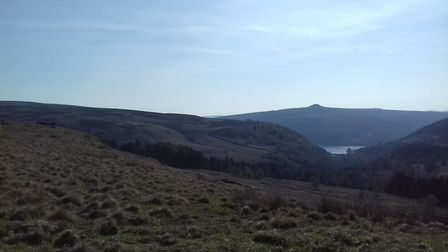View from Hordron Edge towards Win HIll and Lose Hill