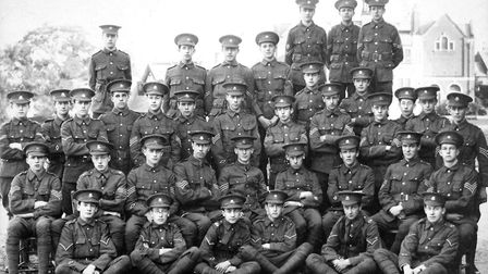 Repton Officer Training Corps 1914-15