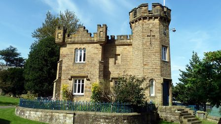 The Gatehouse at the entrance to Edensor
