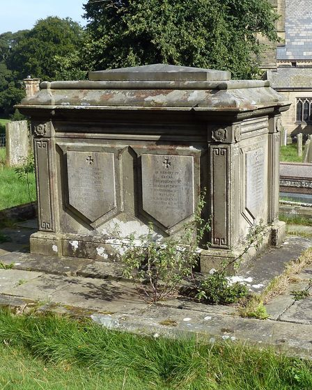 The tomb of Sir Joseph Paxton