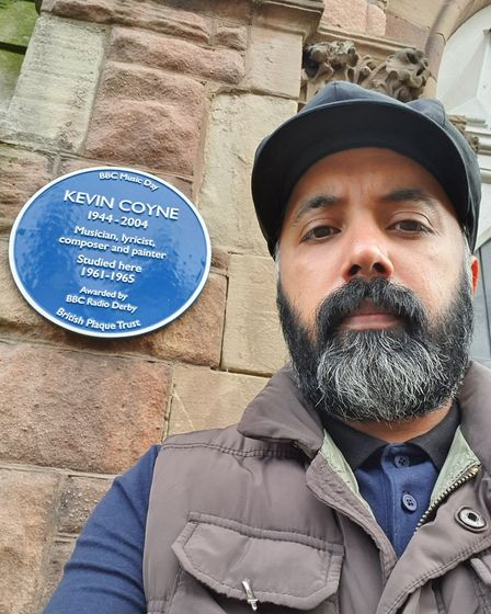 Kalwinder has a passion for Derby's heritage