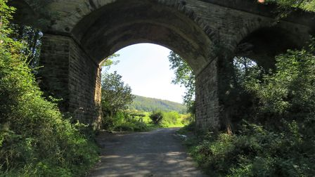Bridge at the end of Monsal Trail