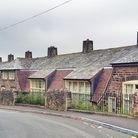 An old school in the Peak District, now converted into houses