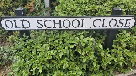 Old School Close in Darley Dale, where a primary school once stood